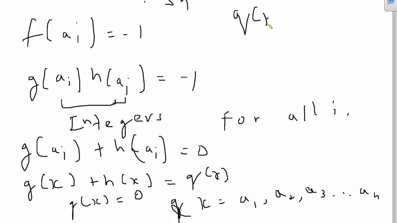 Elegant polynomial problem from Mathematical Olympiad Program (MOP)