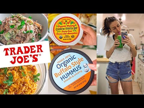 Trader Joe's Grocery Haul + Easy Vegan Recipes 🌱☀️❤️