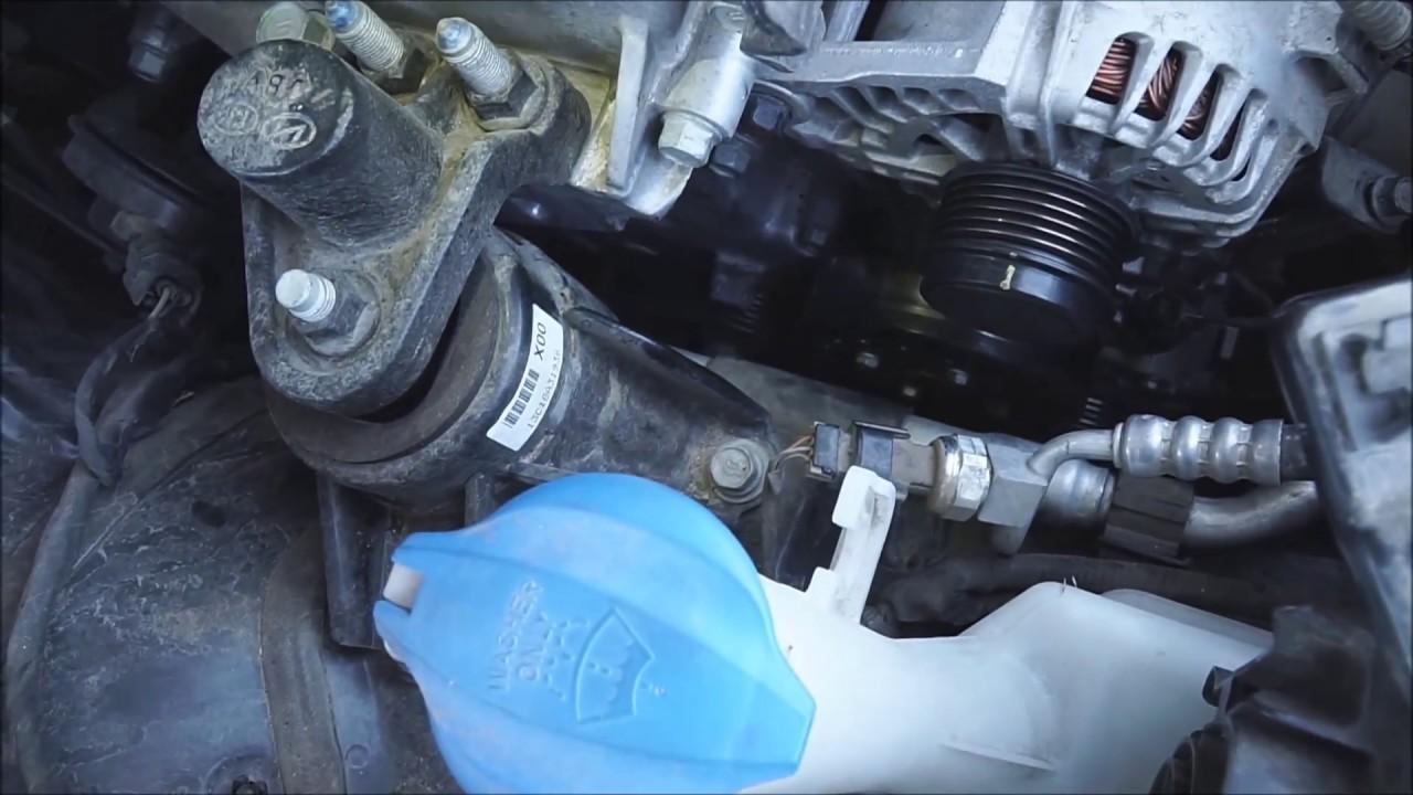 2014 Kia Forte EX Serpentine Belt Replacement  YouTube