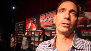 TOM LOEFFLER TALKS GOLOVKIN v LEMEIUX, KLITSHCKO v FURY & SAYS FROCH FIGHT WOULD STILL INTEREST GGG