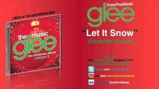 Let It Snow Instrumental (Download) Glee