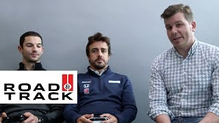 Fernando Alonso and Alexander Rossi Race Each Other in Forza Motorsport 6 | Road & Track