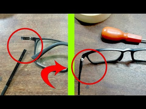 How I Fix My Broken Glasses Frame