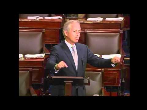 Corker Joins Floor Debate: No Spending Bills Without A Budget