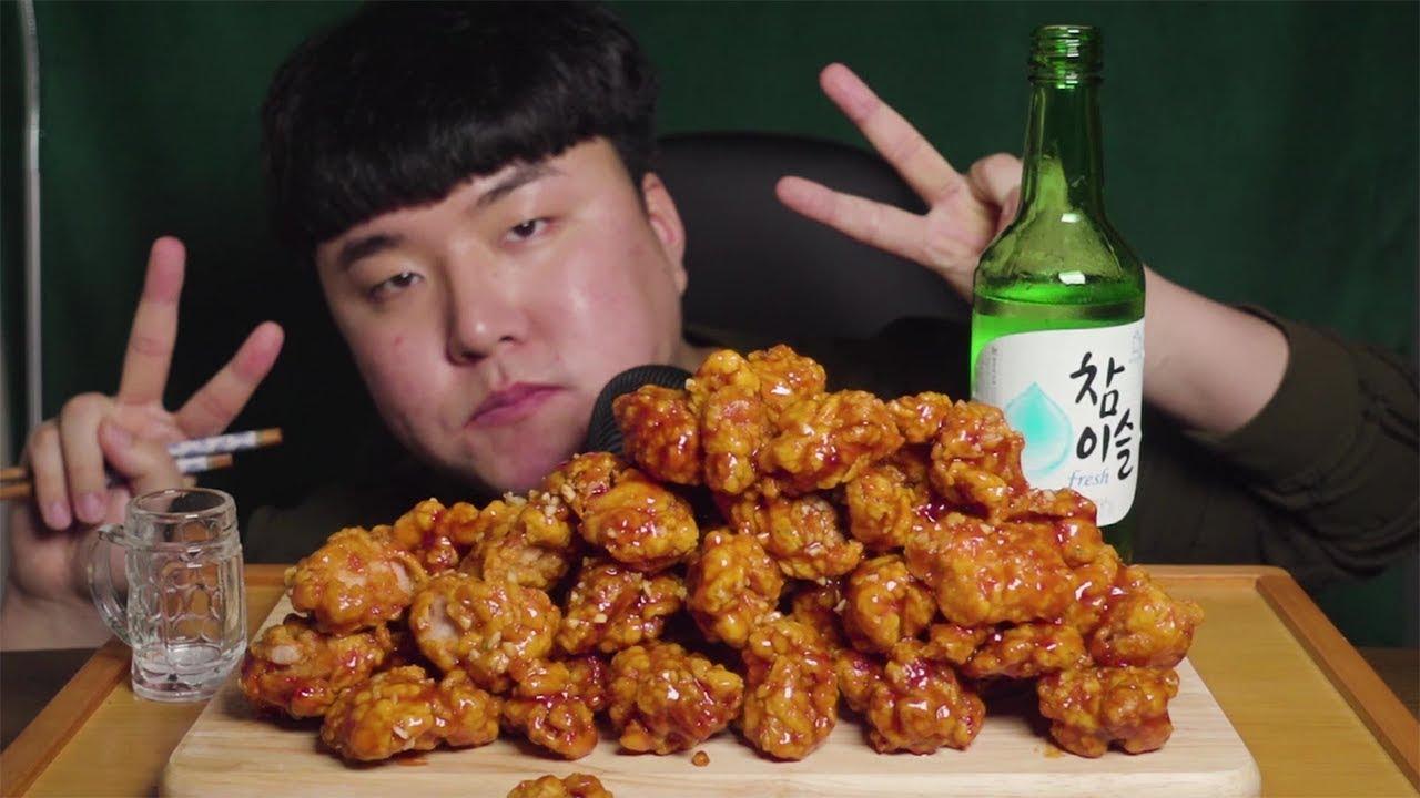 이마트 트레이더스 신메뉴 닭강정 술방~!! - YouTube