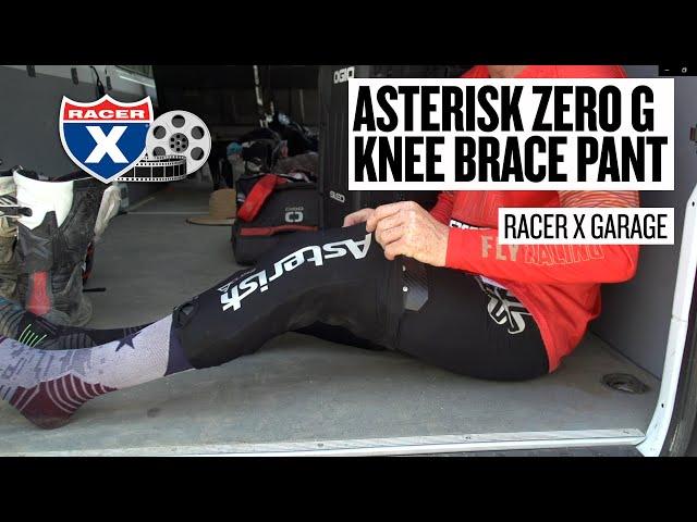 Racer X Garage: Asterisk Zero G Knee Brace Pant