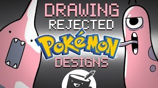 Artists Draw Rejected Pokémon Designs
