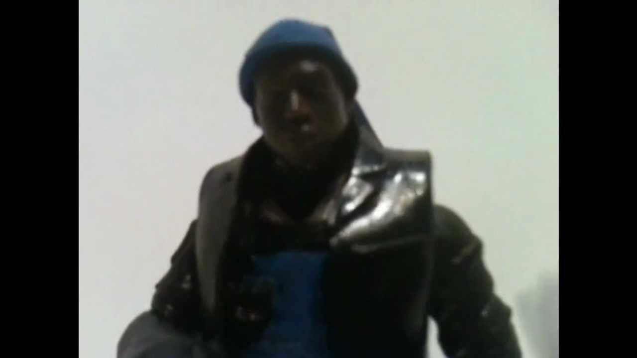 Omar Little Michael K Williams aka Omar the Terror Custom action ...