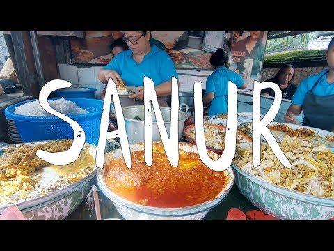 SANUR, BALI, INDONESIA - STREET FOOD AND AN ABANDONED THEME PARK - VLOG #1