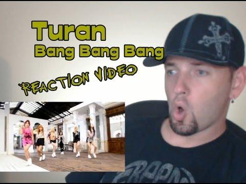 TURAN (투란) - Bang Bang Bang (뱅뱅뱅) Kpop MV Reaction (뮤직비디오)(리액션) Grissle Edition