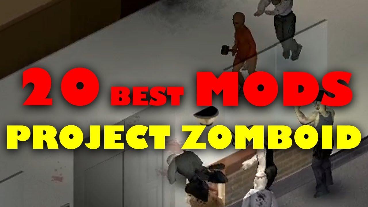20 Project Zomboid Build 20 Mods I use