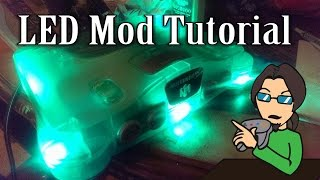 How to LED mod your Nintendo 64 - Derik64
