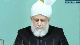 Shia Sunni or Adal wa Hakam khutba juma 2 12 2011 clip 2