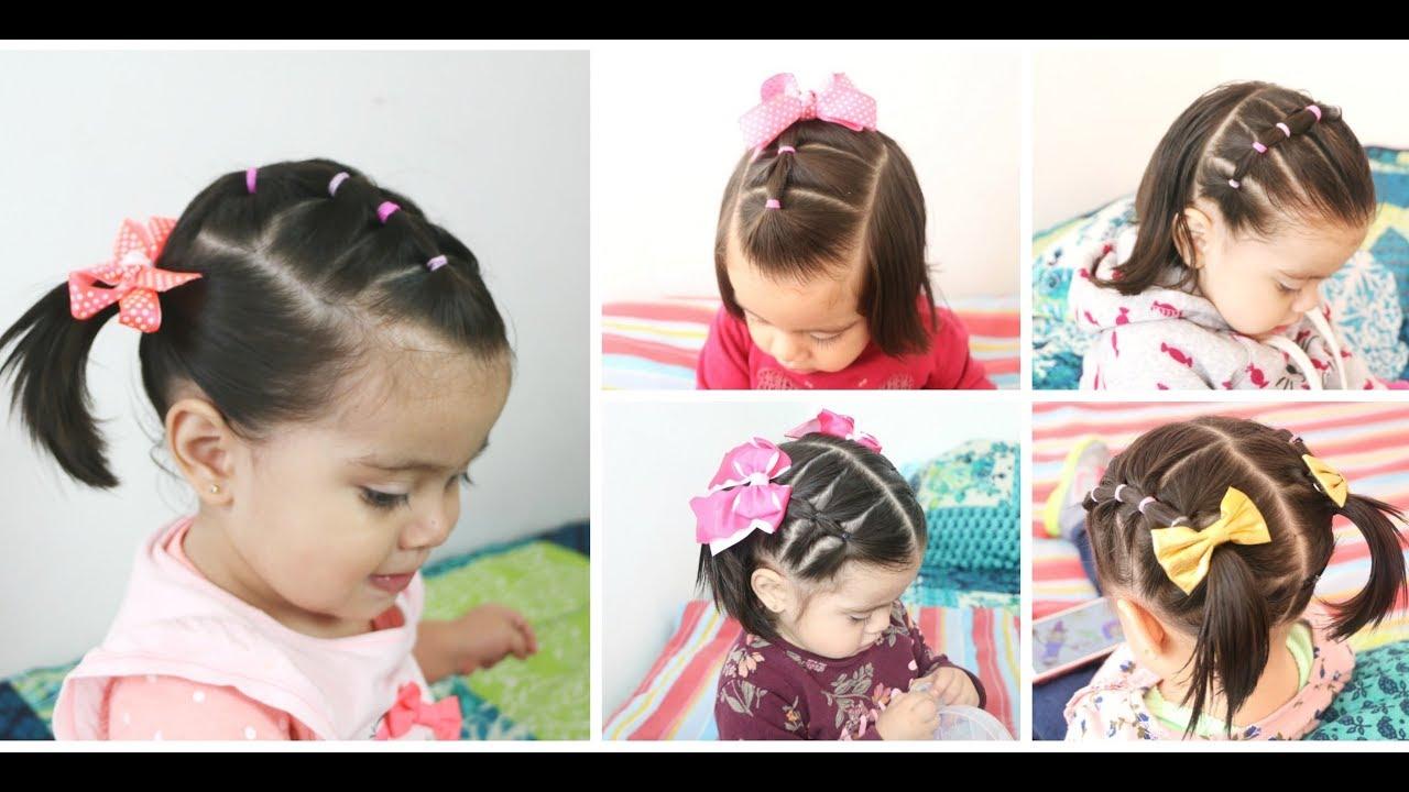 PEINADOS RAPIDOS PARA NIÑA l EASY BABY GIRLS HAIRSTYLES