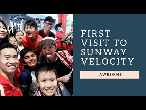 First Visit to Sunway Velocity (Largest Shopping Mall at KL South)