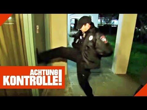 Verlassenes Hotel als Obdachlosen-Hot Spot! Polizei räumt auf!   Achtung Kontrolle   Kabel Eins