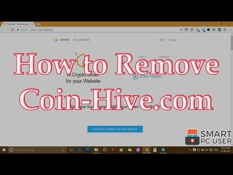 Remove Coin-Hive.com from All Browsers (Firefox, Chrome, Edge, IE)