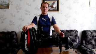 видео Устройство лодочного мотора двухтактного, mercury 5 m