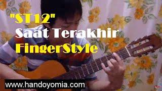 Saat Terakhir - ST12 - Fingerstyle Guitar Solo