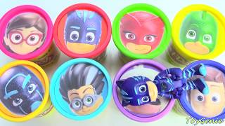 Disney PJ Masks Play Doh Surprises and Slime