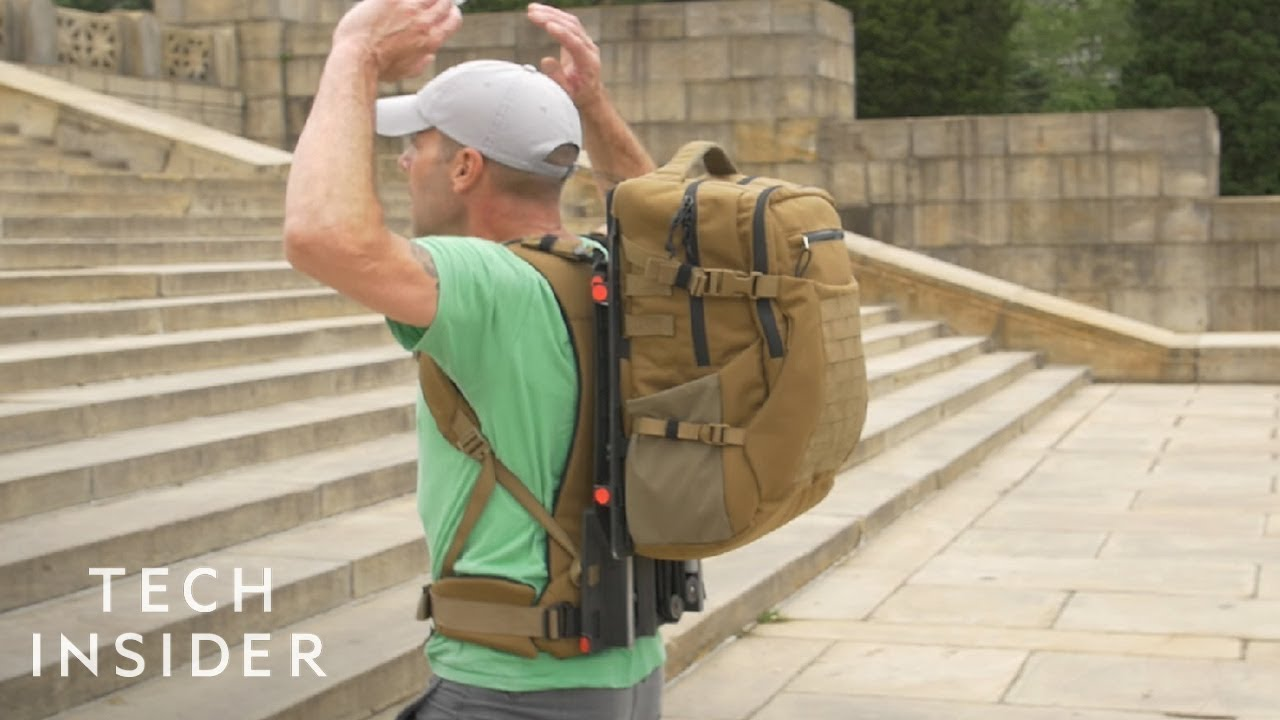 Floating Backpack Will Reduce Weight On Shoulders And Back