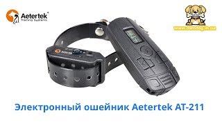 Электрошоковый ошейник для дрессировки собак Aetertek AT-211
