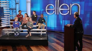 Ellen Talks to Kids About Voting