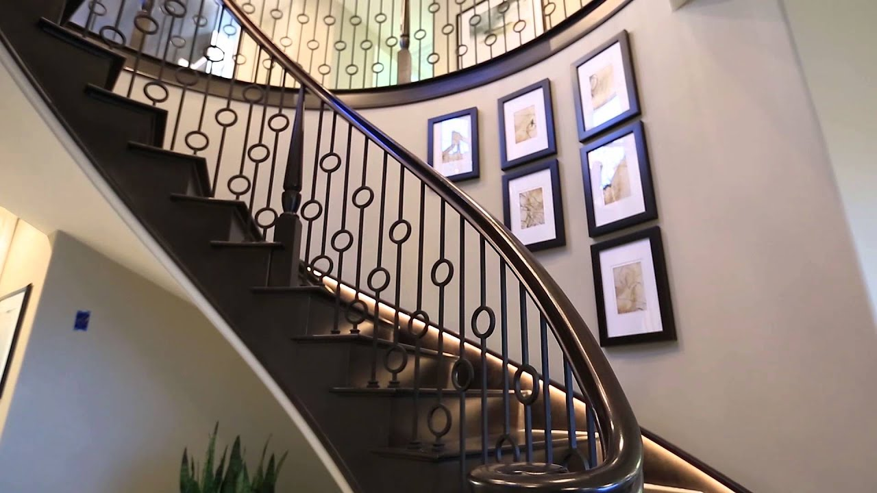 Foyer Plan You Tube : The montara at romana gale ranch extended tour youtube