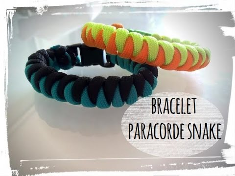 tuto bracelet paracorde snake serpent youtube. Black Bedroom Furniture Sets. Home Design Ideas