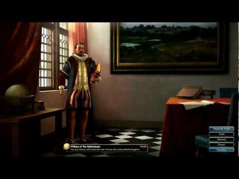 Civilization V Leader | William of the Netherlands