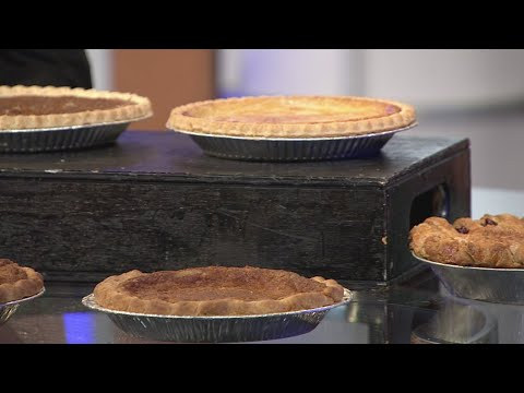 Locally crafted pies