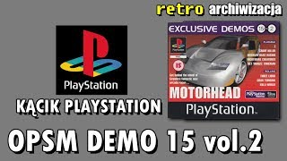 Demo Official UK PlayStation Magazine CD 15 vol. 2 SCED-00828 | Retro archiwizacja - odcinek 756