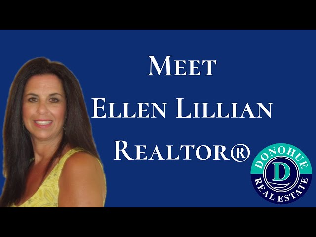 Meet Ellen Lillian - Realtor® with Donohue Real Estate
