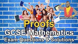 Proofs - GCSE Maths Exam Questions