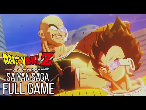Dragon Ball Z Kakarot Full Game Walkthrough Saiyan Saga - No Commentary (#DragonBallZKakarot)