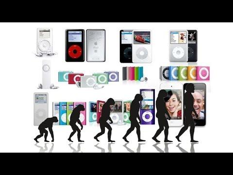 Эволюция iPod - история iPod / iPod Evolution