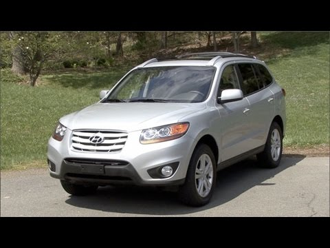 2010 hyundai santa fe review youtube. Black Bedroom Furniture Sets. Home Design Ideas