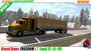 "[""BEAST"", ""Simulators"", ""Review"", ""Timelapse"", ""Let'sPlay"", ""AmericanTruckSimulator"", ""ATS"", ""ATSModReview"", ""ATSModsReview"", ""Great Dane FREEDOM LT""]"