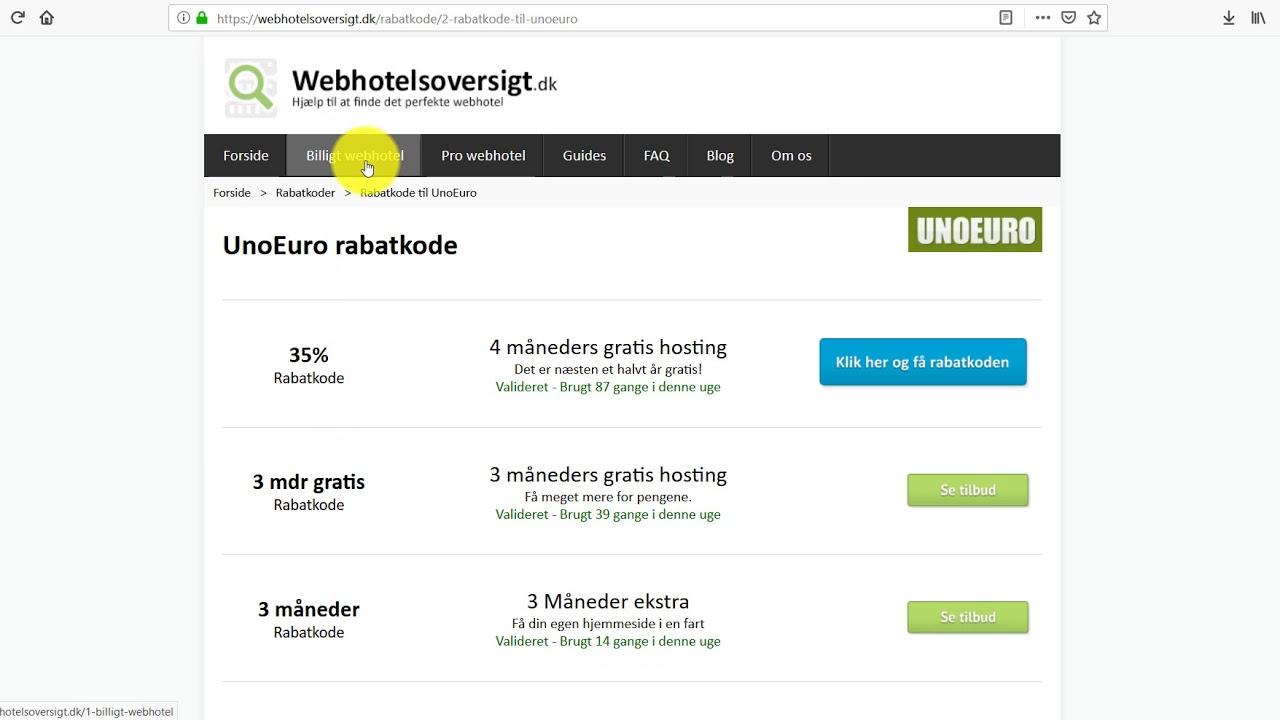6d5e1027e4e 🥇 Find det bedste webhotel - Få overblik over priser og muligheder