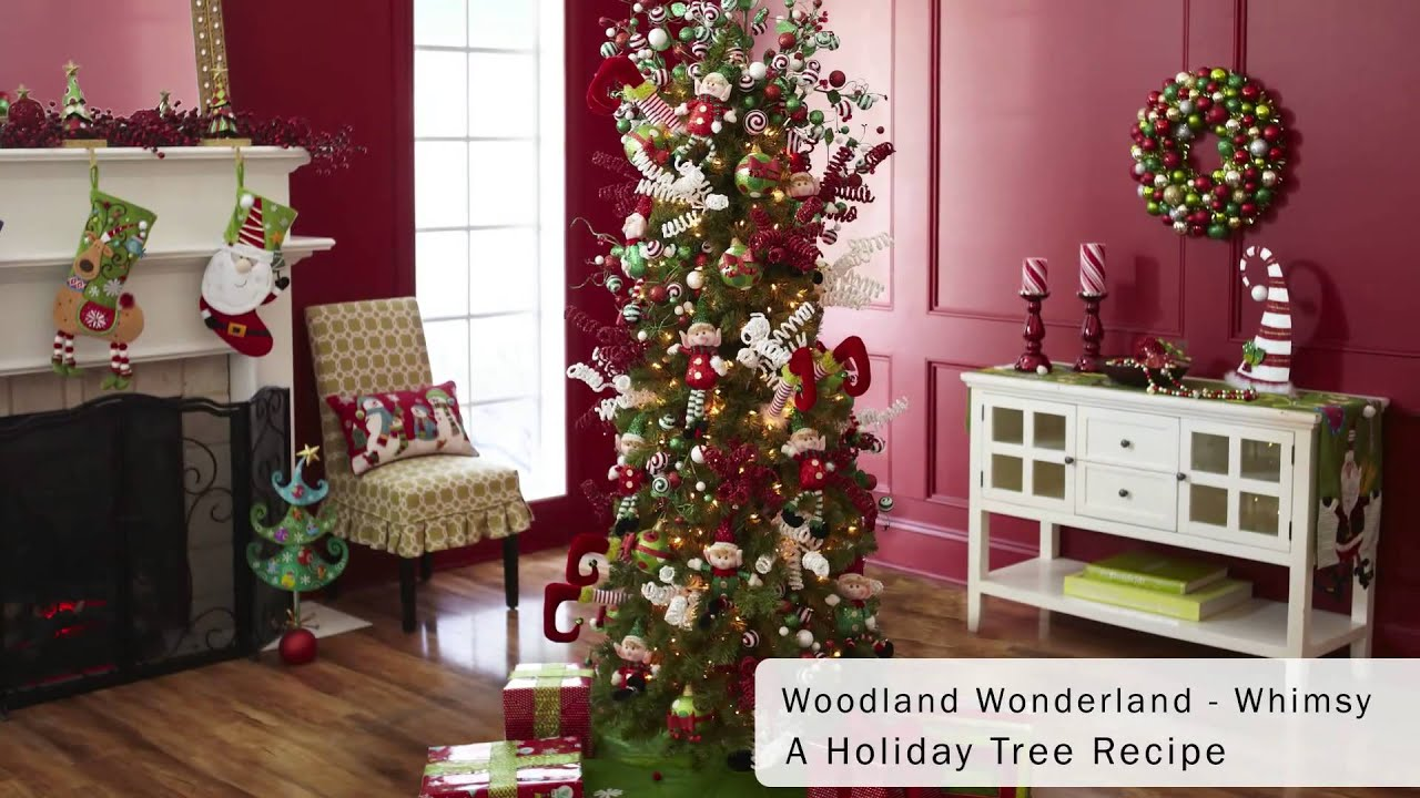 pier 1 imports whimsical christmas tree dcor youtube