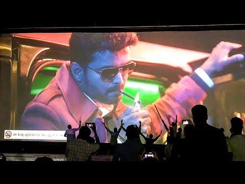 SARKAR FDFS: Thalapathy ENTRY! – Fans Mass Celebration Inside Rohini Theatre! | Thalapathy Vijay
