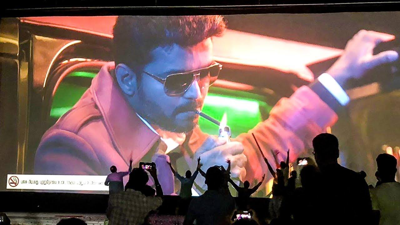 SARKAR FDFS: Thalapathy ENTRY! - Fans Mass Celebration Inside Rohini Theatre! | Thalapathy Vijay