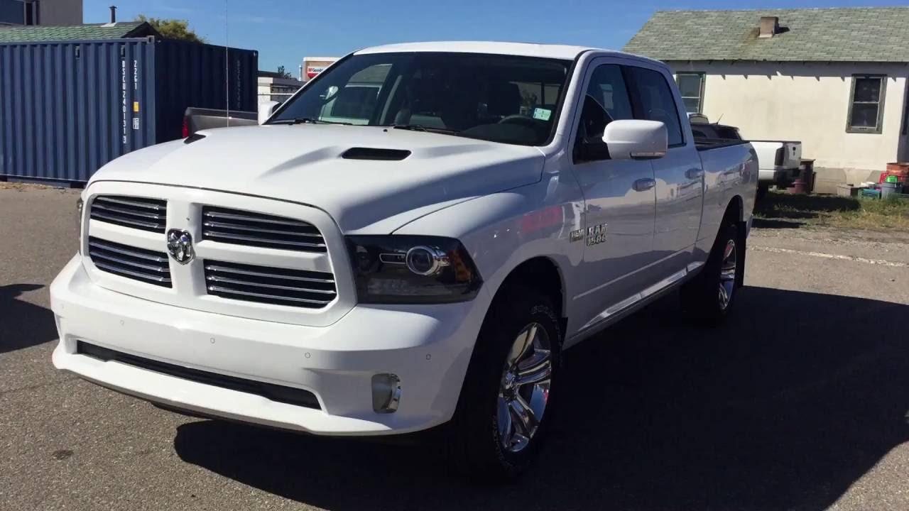 2017 White Ram 1500 Sport