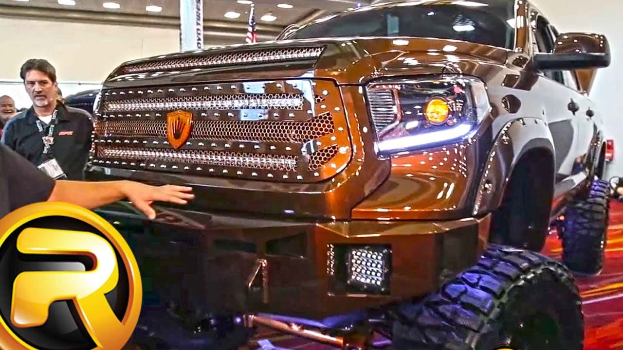 Custom 2015 Toyota Tundra Truck With Bully Dog Chip And