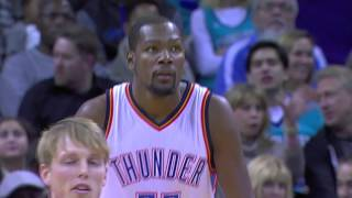 Kemba Walker and Kevin Durant Square Off in Charlotte