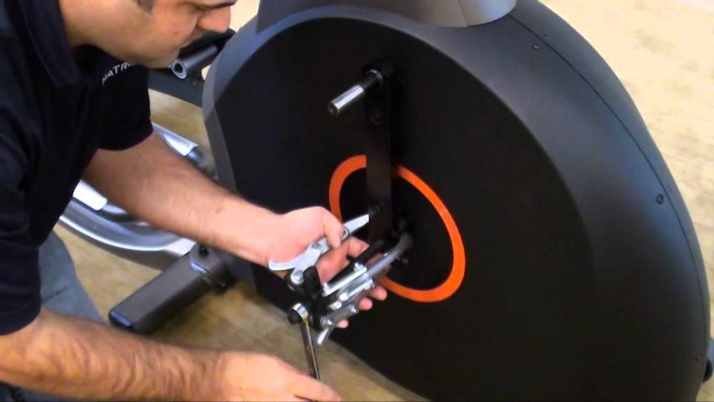 Belt Drive Bike >> Elliptical Flywheel and Drive Belt Replacement - YouTube