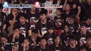 Robocon 2017 International : HongKong vs Thailand