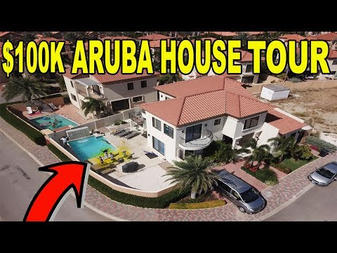 OUR $100,000 VACATION IN ARUBA (MANSION TOUR)