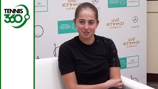 Jelena Ostapenko excited to face Serena Williams in Abu Dhabi