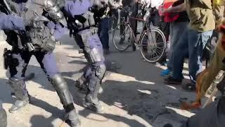 Где «ПОЗОР»? Тем временем в Париже 152 задержанных человека в ходе протестов